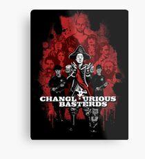 Changlourious Basterds (Any Shirt Colour) Metal Print