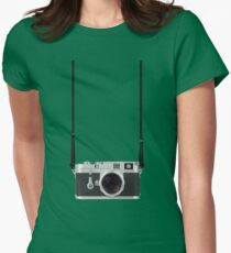 Leica M3 with 50mm Summilux f1.4 Womens Fitted T-Shirt