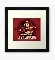 AVALANCHE Wants YOU! Framed Print