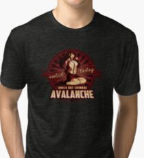 AVALANCHE Wants YOU! Tri-blend T-Shirt