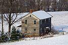 Forgotten Farmhouse... A Closer Winter View by Gene Walls