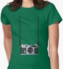 Nikon Sp Rangefinder Womens Fitted T-Shirt
