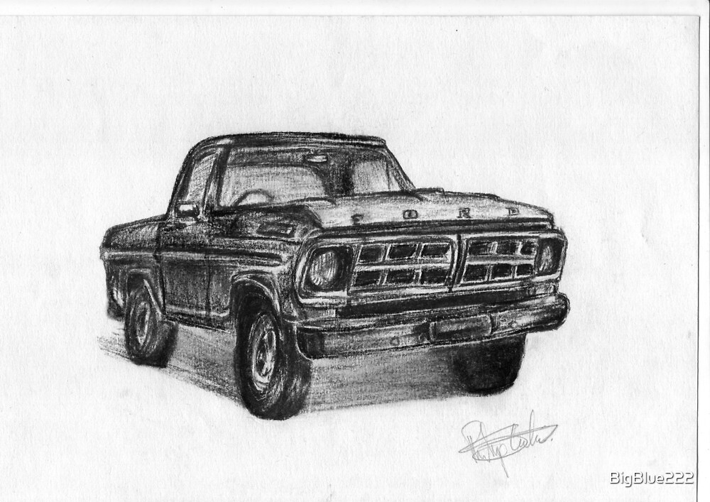 Ford Pick-up - American legend by BigBlue222