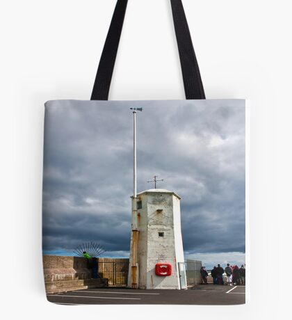 At The End of The Pier Tote Bag