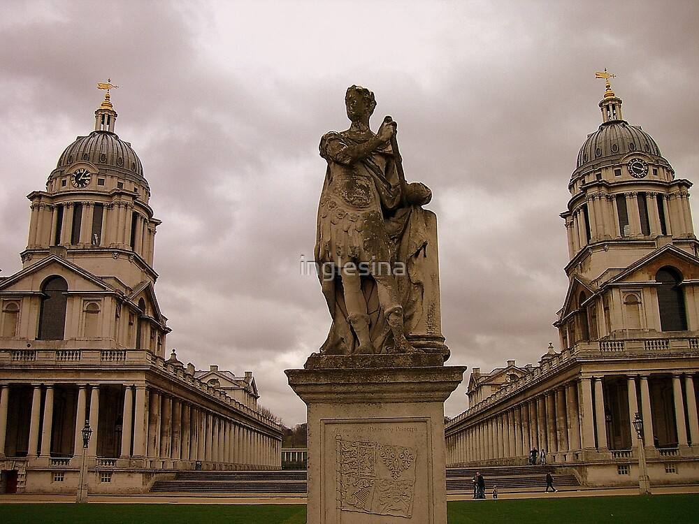 Old Royal Naval College, Greenwich, London by inglesina
