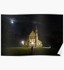 St Saviours church at night Poster