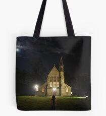 St Saviours church at night Tote Bag