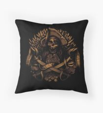 Never Say Die Throw Pillow