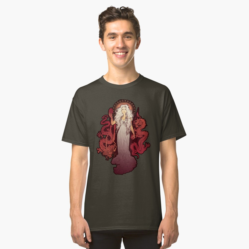Dragon Mother Classic T-Shirt Front