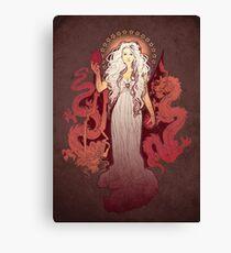 Dragon Mother Canvas Print