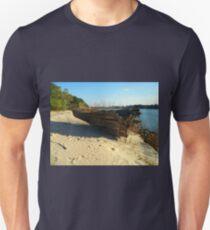 A Near Death Experience With A  Log T-Shirt