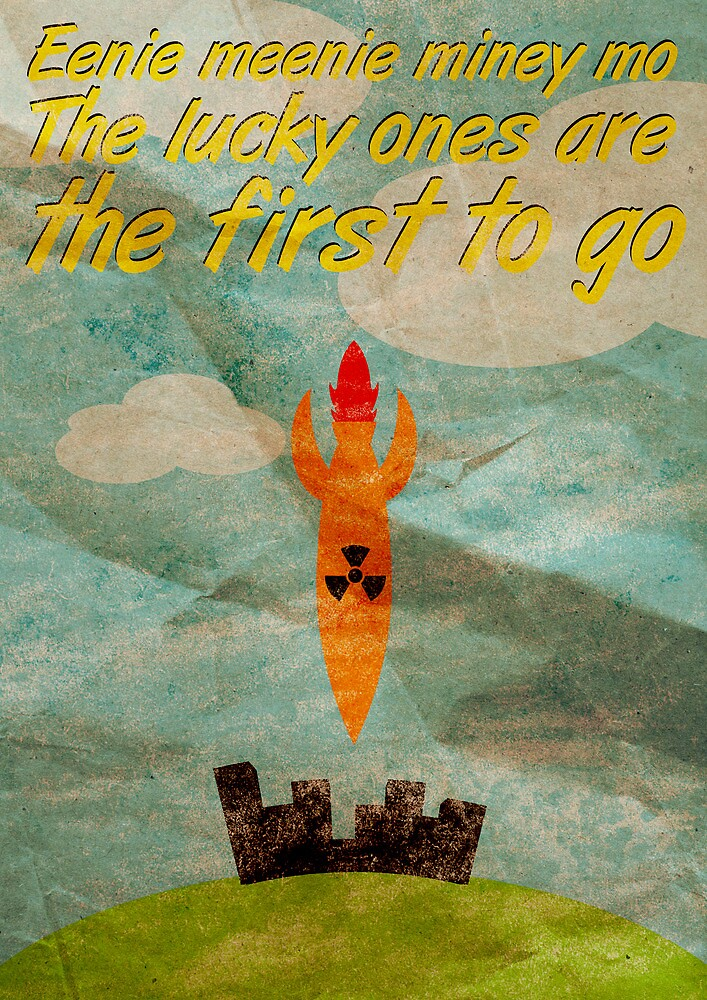 The Lucky Ones are the First to Go by Karl Gookey
