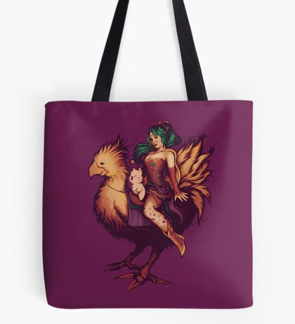 Mog's Chocobo Riding Club Tote Bag