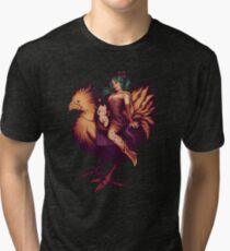 Mog's Chocobo Riding Club Tri-blend T-Shirt