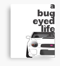 Subaru Bug Eyed life Metal Print