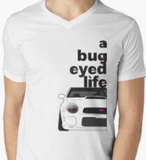 Subaru Bug Eyed life V-Neck T-Shirt