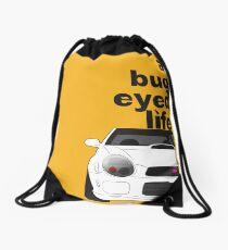 Subaru Bug Eyed life Drawstring Bag
