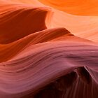 Sunset Waves of Antelope Canyon, Arizona. by Alex Cassels