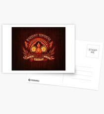 Come-Come-Commala Postcards