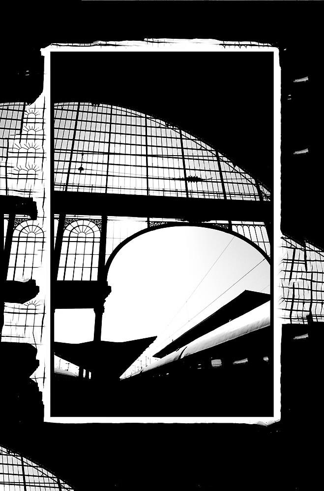 Railway Arch Abstract Nyugati by ragman