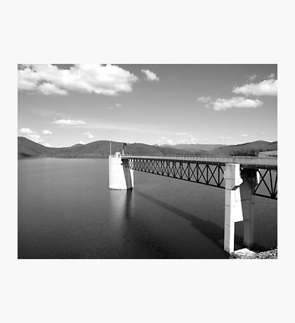 Hinze Dam Spillway Tower Photographic Print