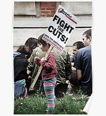 Tottenham Demonstrations  Poster