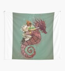 The Water Warrior Wall Tapestry