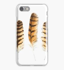 Bird of Prey Feathers  iPhone Case/Skin
