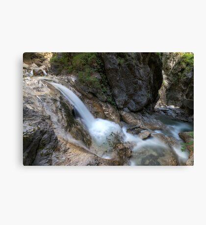 Around the Rock Canvas Print