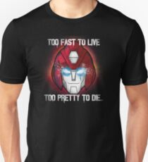 Hot Rod (with quote) Unisex T-Shirt