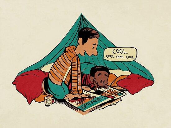 Troy and Abed's Dope Adventures by MeganLara