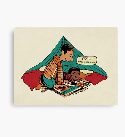 Troy and Abed's Dope Adventures Canvas Print