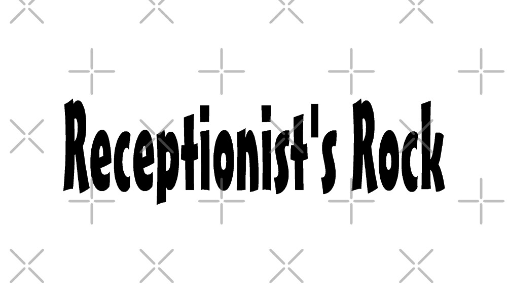 Receptionist by greatshirts