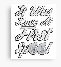 Love at first Spool Metal Print