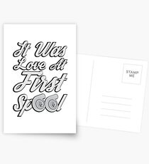 Love at first Spool Postcards