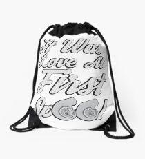 Love at first Spool Drawstring Bag