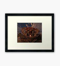 Cio the Sorceress Framed Print