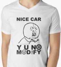 Y U No Modify V-Neck T-Shirt