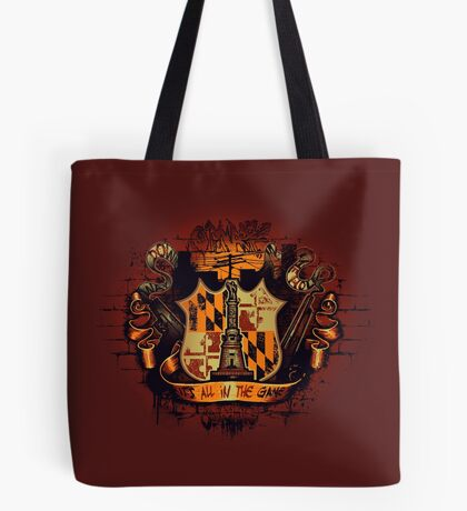 It's All in the Game Tote Bag