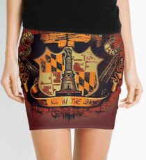 It's All in the Game Mini Skirt