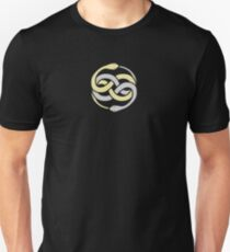 Auryn From The Never Ending Story - Gold Silver Unisex T-Shirt