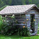 On The Farm  -  Corn Crib by BobJohnson