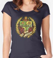 Donde Esta La Biblioteca Women's Fitted Scoop T-Shirt