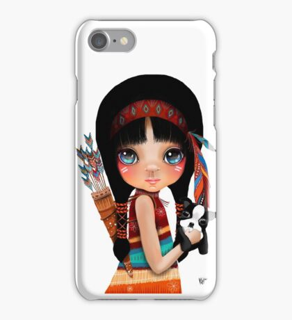 Native Girl iPhone Case/Skin