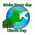 Earth day graphic von Irisangel