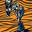 Zombie Lass by psychoandy