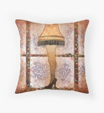 Fra-gee-lay, Ode to A Christmas Story Throw Pillow