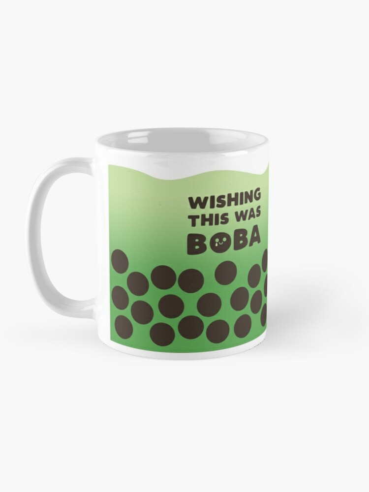 Alternate view of Matcha Boba Tea Mug