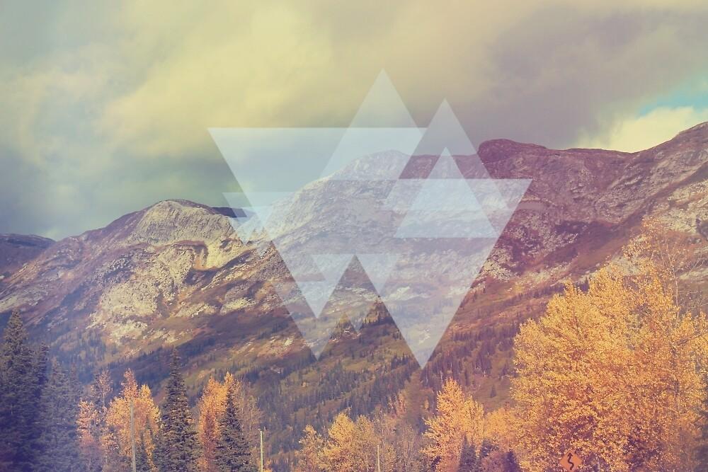 Geometric Mountains by Evima