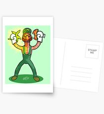 Luigi Lunacy Postcards